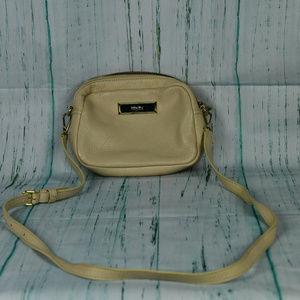 DKNY Light Tan Leather Small Crossbody Handbag